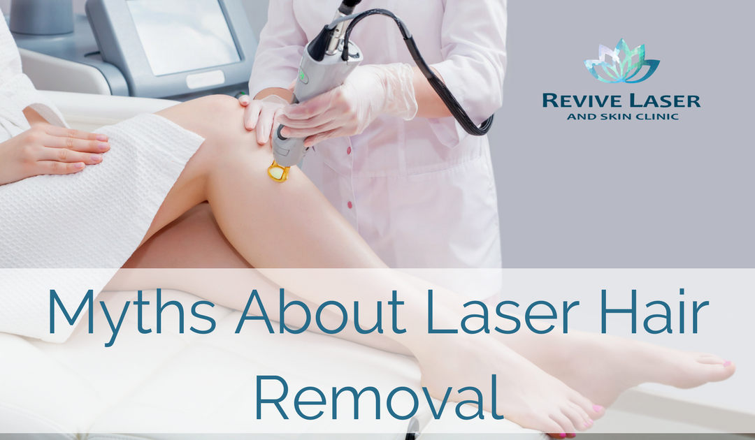 myths about laser hair removal cover photo - Revive Laser