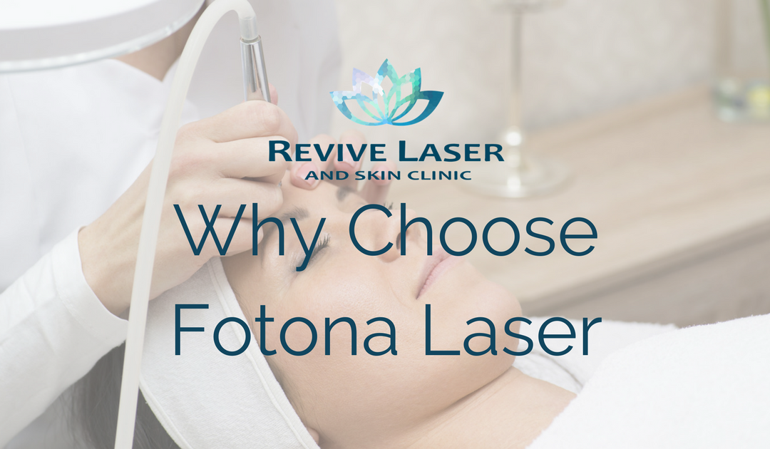 Why Choose The Fotona Laser?