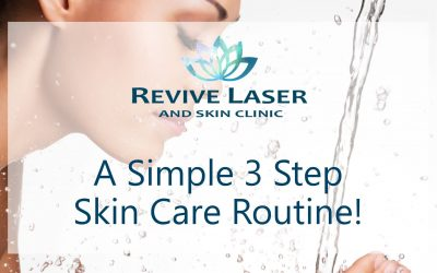 A Simple 3-Step Skin Care Routine!