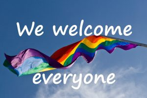 We Welcome Everyone Sign Revive Laser And Skin Clinic