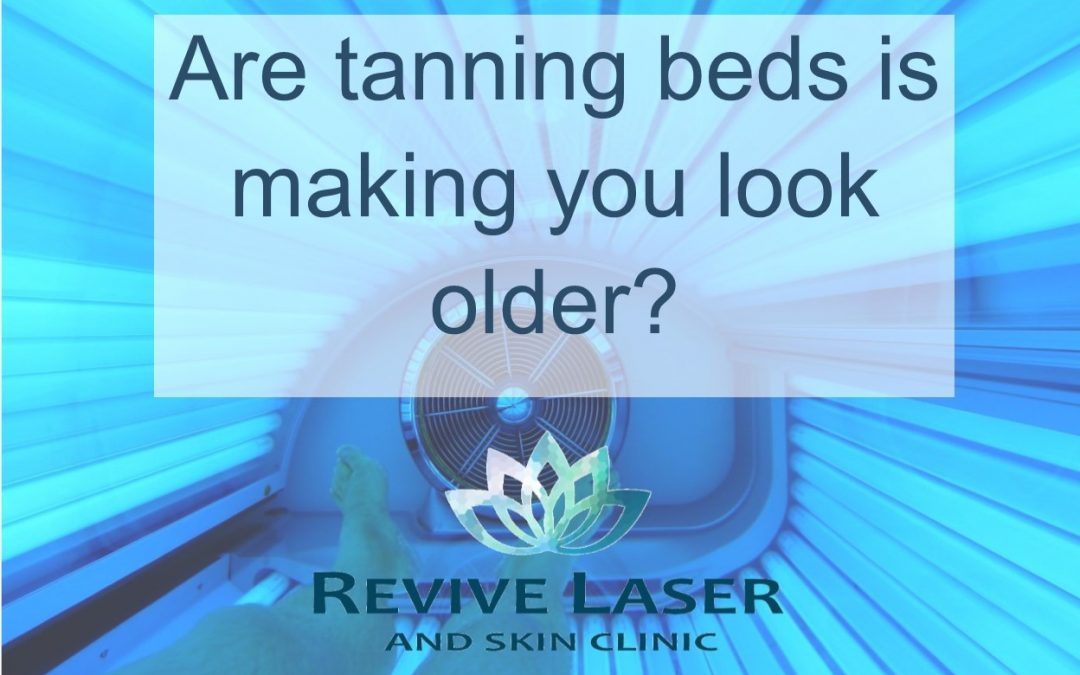 Are tanning beds making you look older?