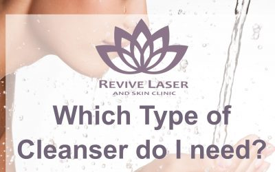 Which type of cleanser do I need?