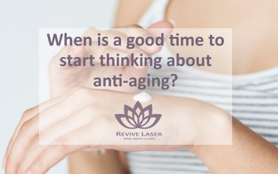 When is a good time to start thinking about anti-aging?